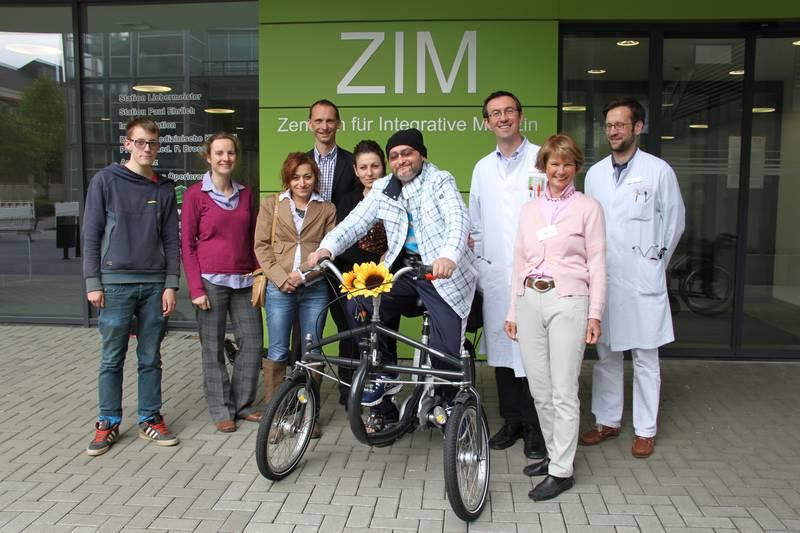 Betroffene - Einzelfallhilfe: Bayram Uguz auf seinem neuen E-Trike