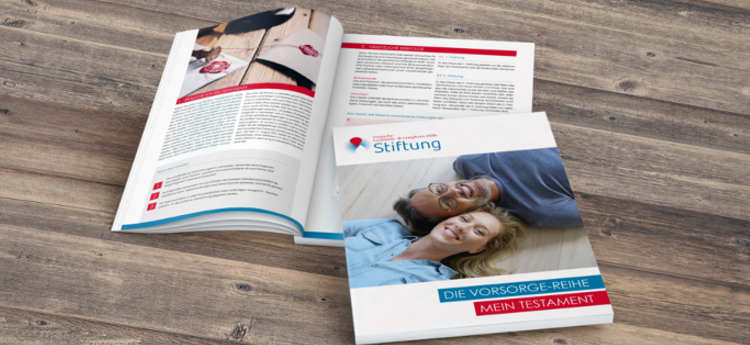 Broschüren der Stiftung Deutsche Leukämie- & Lymphom-Hilfe
