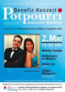 Benefizkonzert Potpourri bekannter Melodien