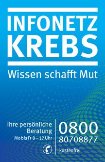 Plakat INFONETZ KREBS