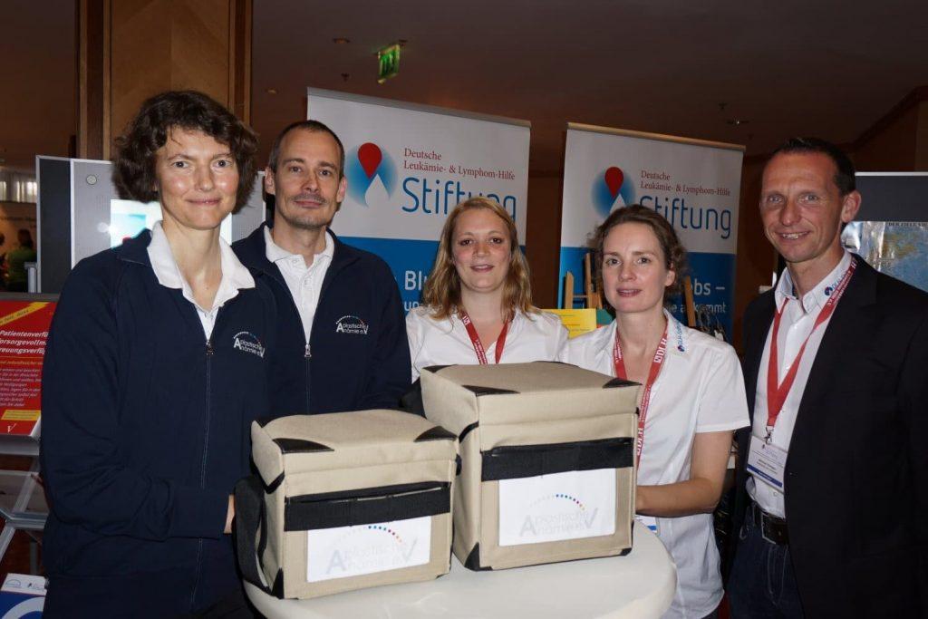 Thermoboxen für Patienten mit Blutarmut